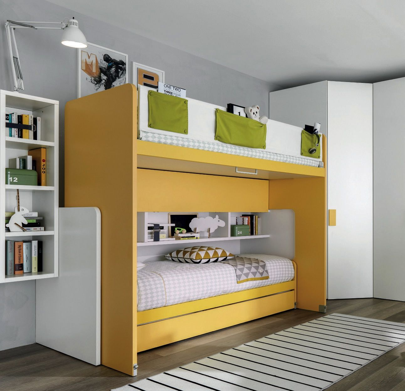 Slide il letto multifunzione zalf buongiovanni mobili - Mobili multifunzione ...